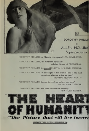 The Heart of Humanity - Ad for film