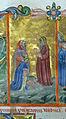 Firenze, commedia di dante, codice miniato da simone camaldolese e aiuti, purgatorio canto I, 1398, tempi 1, c. 32r, 04.JPG