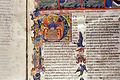 Firenze, commedia di dante, codice miniato da simone camaldolese e aiuti, purgatorio canto I, 1398, tempi 1, c. 32r, 07.JPG