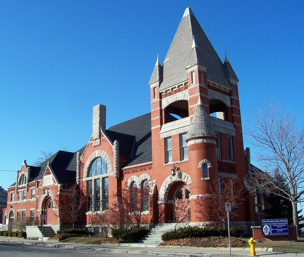first presbyterian church oshkosh wisconsin wikipedia