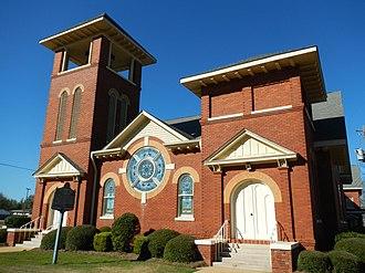 Headland, Alabama - Image: First Baptist Church of Headland, AL