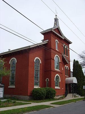 Brutus, New York - First Baptist Church of Weedsport