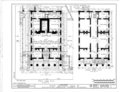 First National Bank, Jefferson Street and Fountain Road, Huntsville, Madison County, AL HABS ALA,45-HUVI,3- (sheet 1 of 5).png