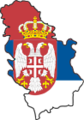 Flag map of Serbia (with Kosovo).png