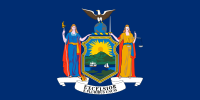 Flag of New York (April 1, 1901)