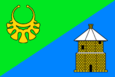 Flag of Zelenograd-Silino (municipality in Moscow).png