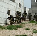 Flickr - Israel Defense Forces - Kfir Brigade IDF Officers Practice Urban Warfare (1).jpg