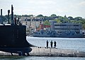 Flickr - Official U.S. Navy Imagery - USS Mississippi makes its way up the Thames River..jpg