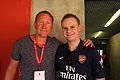 Flickr - Ronnie Macdonald - Ray Parlour ^ Robbie.jpg