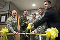 Flickr - The U.S. Army - Drum ribbon cutting.jpg