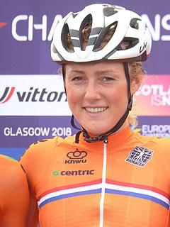 Floortje Mackaij Dutch racing cyclist
