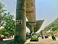 Flyover Under construction near Durga Temple, Vijayawada 1.jpg