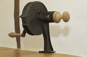 Marmalade - Antique marmalade cutter, used to cut citrus fruit peel into thin slices