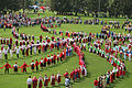 2511 people took part in a patterned round dance - this is the most massive dance on the planet.