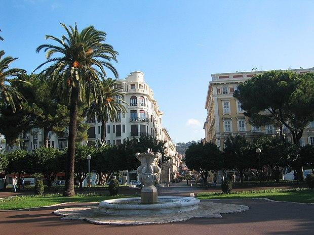 Monument historique à Nice