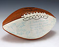 Football signed by 1976 Pitt Panthers (1988.210).jpg