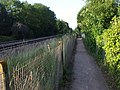 Footpath to Dinas Powys station - geograph.org.uk - 1384256.jpg