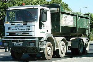 1993 Bishopsgate bombing - An Iveco tipper truck, the type used to carry the bomb