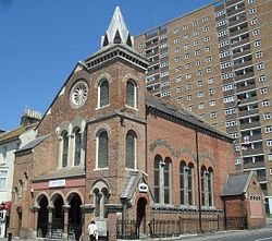 Former Bristol Road Methodist Church, Brighton (IoE Code 480447).jpg