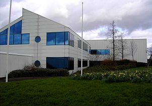 Former EMI CD factory, Penny Lane, Swindon - detail - geograph.org.uk - 346166.jpg