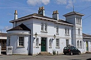 Gobowen railway station grade II listed railway station in the United kingdom