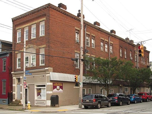 Old storefront, South Side