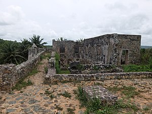Fort Batenstein - Image: Fort Batenstein, top floor