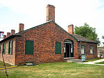 Fort Yorks Officers Quarters and Kitchen 2010.jpg