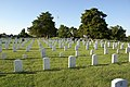 Fort gibson national cemetery Graves in the afternoon.jpg