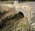 Fosse Way, Doncombe Brook Bridge. - panoramio.jpg