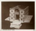 Fotografi från Jerusalem på modell av tempel - Hallwylska museet - 104354.tif