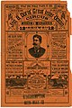 Four-page illustrated advertisement for Jno. B. Doris' (John B. Doris) Great Inter-Ocean Circus, Museum and Menagerie, 12 shows combined in one, May 10, 1886.jpg