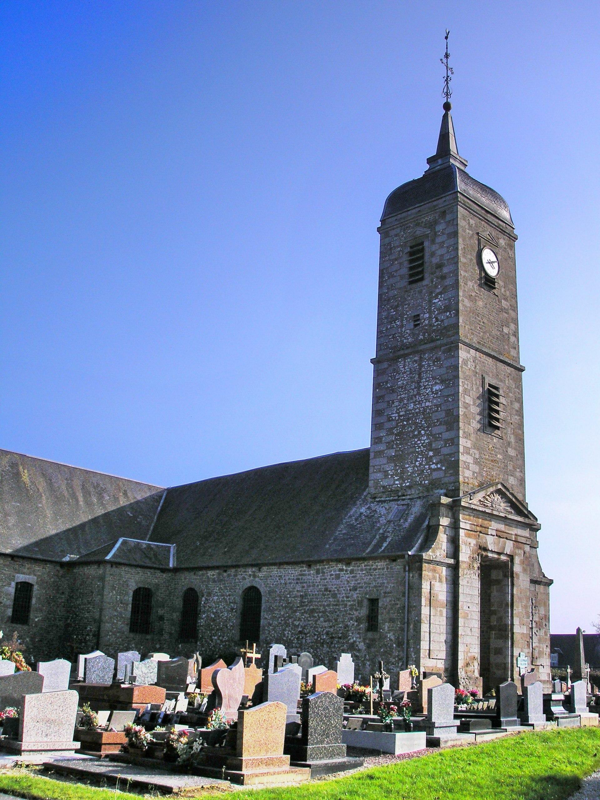 Saint germain de tallevende la lande vaumont wikip dia for La quincaillerie saint germain