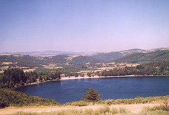 Communes of the Ardèche department - Image: France Ardeche Lac d Issarles 01