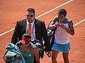 Francesca Schiavone (ITA) def. Kimiko Date-Krumm (JPN) (7299079398).jpg