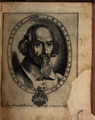 Francesco Andreini, engraved portrait from Le Bravure del Capitano Spavento 1607 - Bavarian State Library photo1.png