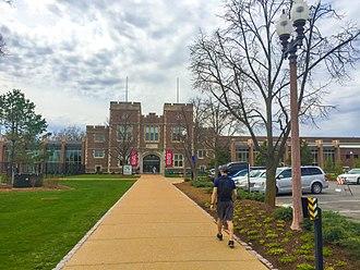 Francis Gymnasium - Francis Gymnasium, Washington University in St. Louis, April 2018