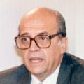 Francisco Fernández Ordóñez en la rueda de prensa posterior al Consejo de Ministros.tif