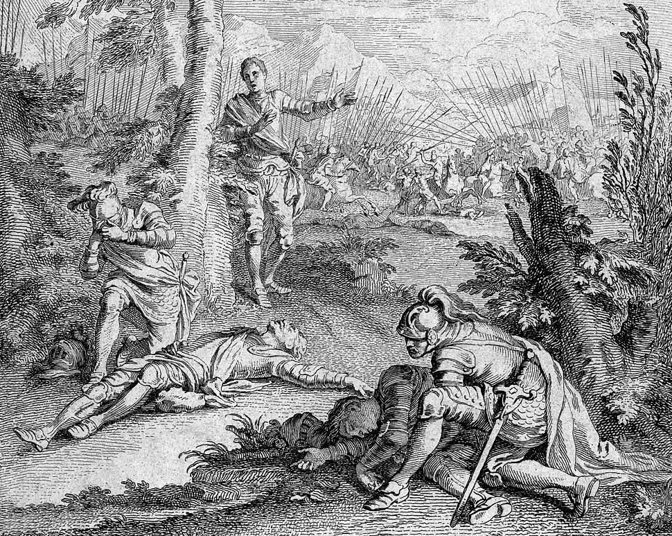 Francois Gravelot's Henry VI Act 2 Scene 5 (crop 2)