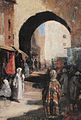 Frank Buchser Stadttor in Fes 1858.jpg