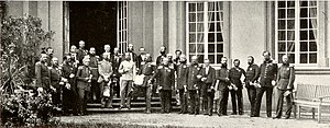 Confederation - The monarchs of the member states of the German Confederation meet in Frankfurt in 1863.