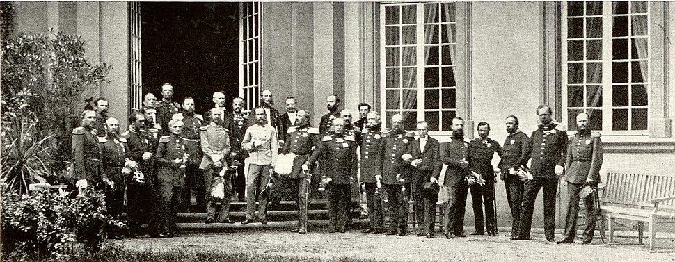 Frankfurter Fürstentag 1863 Abschlußphoto