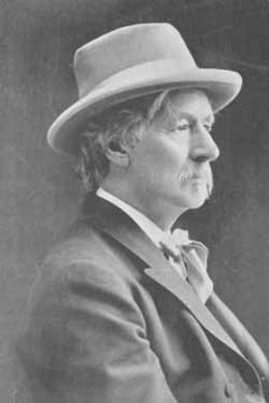 Franklin Benjamin Sanborn - Franklin Sanborn in 1900