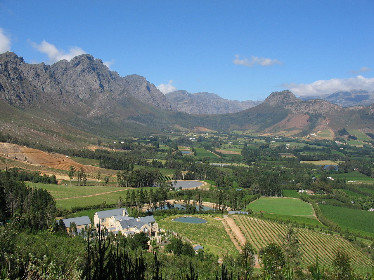South African Winelands Hotels