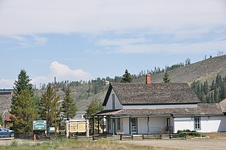 National Register of Historic Places listings in Grand County, Colorado - Image: Fraser CO Cozens Ranch House