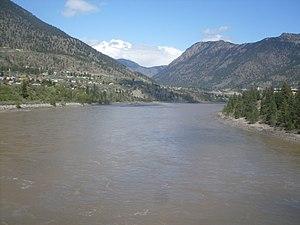 Fraser River - Fraser River in Lillooet