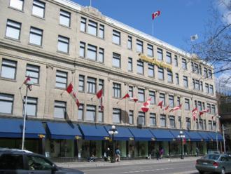 Freimans - The former Freimans department store on Rideau Street in Ottawa