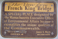 French king bridge plaque.png