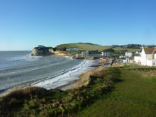 Freshwater, Isle of Wight village and parish on the Isle of Wight, England