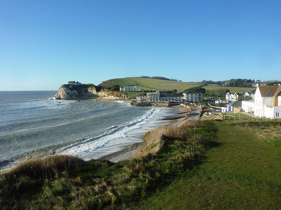 Freshwater Bay, Isle of Wight, England-26Dec2013 (1)